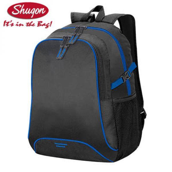 ada7b79e131 Shugon Basic rugzak Osaka zwart/blauw