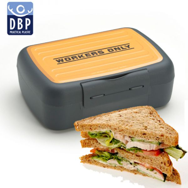 DBP - Lunchbox for workers only met click-sluiting