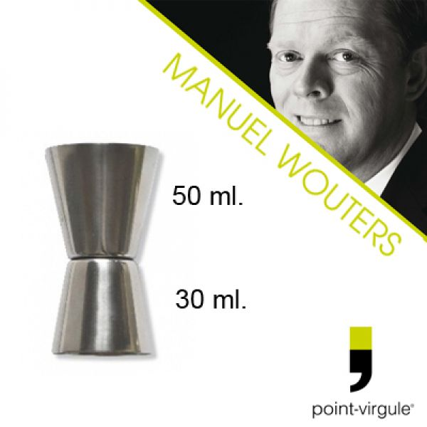 GIN TONIC - Manuel Wouters Cocktailmaat 30/50 ml.