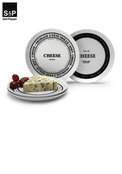 Salt&Pepper Fromage Kaasbordje 16,5 cm set/4 SP30397