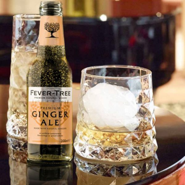 WHISKY GINGER - Set van 6 whisky ginger glazen GEM 32 cl.
