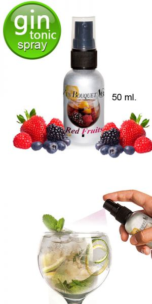 GIN TONIC - RED FRUITS SPRAY 50 ml.