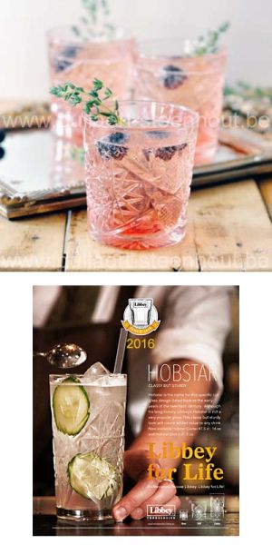 Libbey glassware - Hobstar gin tonic glazen 355 ml.