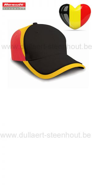 Result - RC062X National cap / supporters pet België