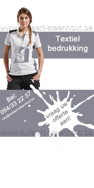 Textielbedrukking t-shirts / sweaters / softshell / fleece / polo