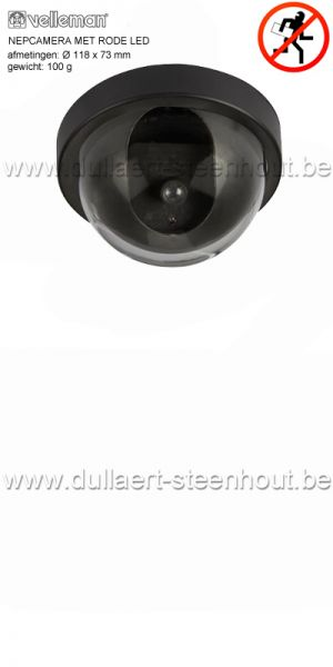 Velleman - NEPCAMERA MET RODE LED CAMD12