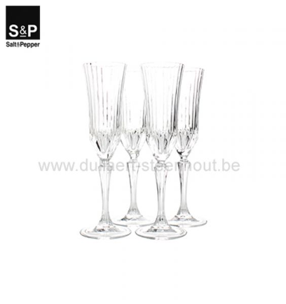 Salt & Pepper Champagneglas 0,18l set/4 Grace