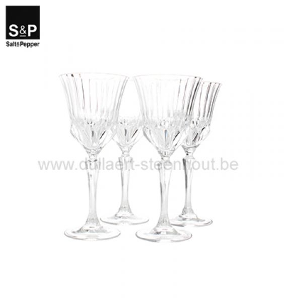 Salt & Pepper Rodewijnglas 0,28l set/4 Grace