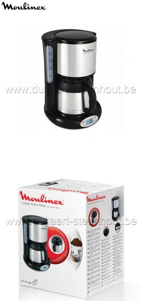 MOULINEX Koffiezetapparaat Subito Therm Timer FT362811