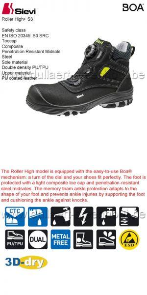 Sievi Werkschoenen Kopen.Dullaert Steenhout Ninove Werkschoenen Mannen