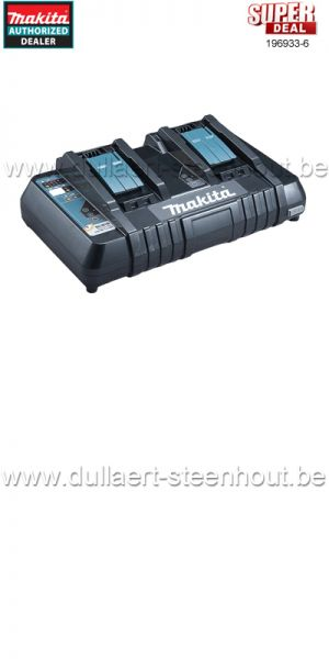 MAKITA - 196933-6 DUO SNELLADER DC18RD