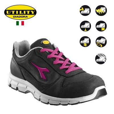 Diadora Werkschoenen Dealer.Dullaert Steenhout Ninove Diadora Run S3 Werkschoenen