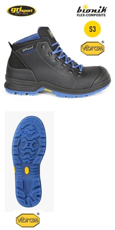 Grisport Werkschoenen S3.Dullaert Steenhout Ninove Grisport Super Lichte S3 Werkschoenen