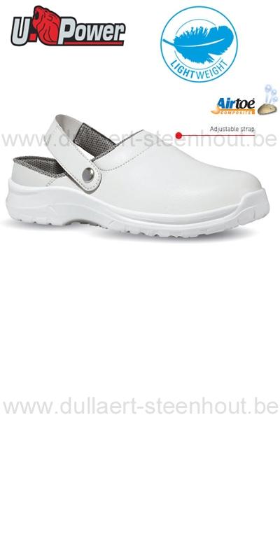 Witte Werkschoenen.Dullaert Steenhout Ninove U Power Uw60041 Witte Werkschoenen