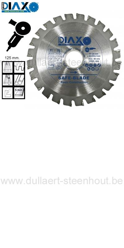 Fabulous Dullaert-Steenhout Ninove   Prodiaxo - SAFE BLADE 125 MM. Zaagblad FF42