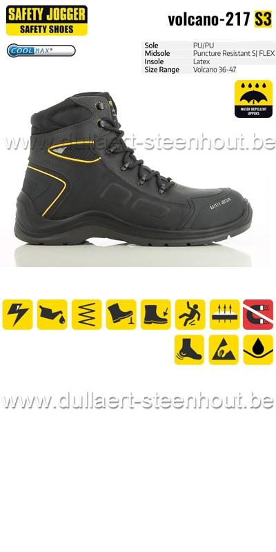 Werkschoenen Safety Jogger.Dullaert Steenhout Ninove Safety Jogger Volcano Waterproof S3