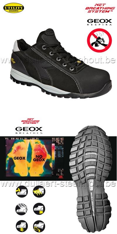 Diadora Werkschoenen Dealer.Dullaert Steenhout Ninove Diadora Utility Glove Tech Low S3