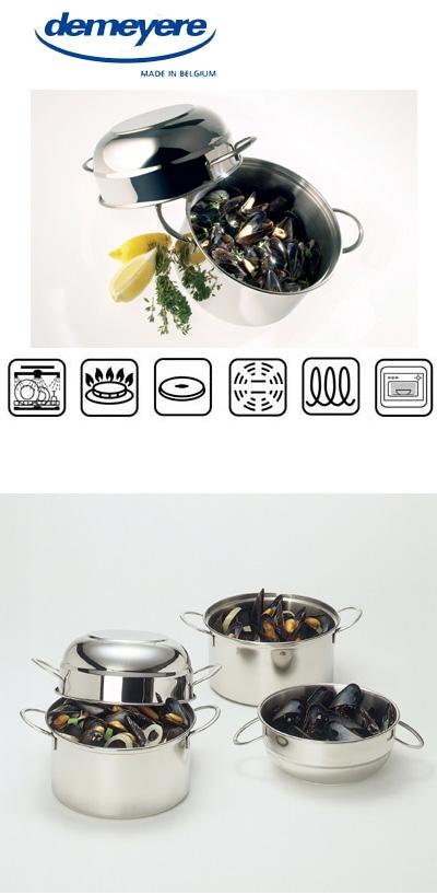 dullaert steenhout ninove resto by demeyere mosselpot. Black Bedroom Furniture Sets. Home Design Ideas